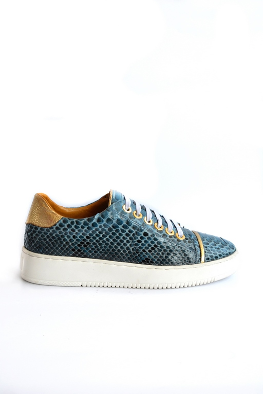 Python sneakers blue